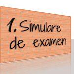 Calendarul simulării evaluării naționale clasa a VIII-a, 2018-2019